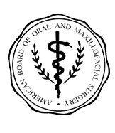 american board of oral and maxillofacial surgery logo